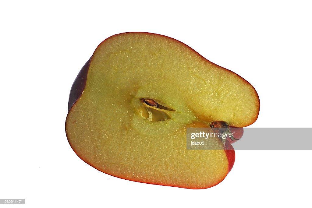 Half apple : Stock Photo