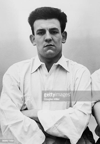 Half back Trevor Smith who plays for Birmingham FC and the England national side 14th January 1955