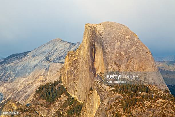 Half Dome at Sunset, Rain in the East
