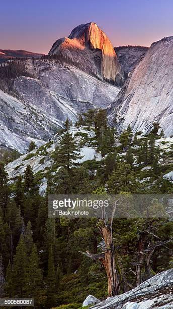 Half Dome from Tenaya Canyon - Yosemite