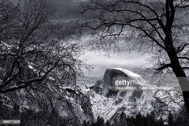 Half Dome in Winter, Yosemite Valley
