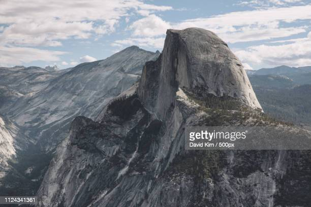 half dome rock at yosemite national park - david cliff stock pictures, royalty-free photos & images