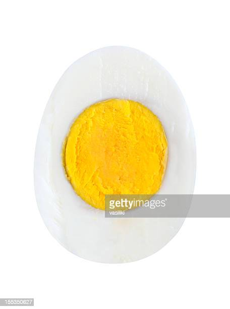 half egg - boiled stock pictures, royalty-free photos & images
