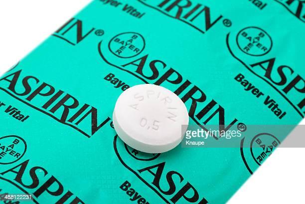 30 g Aspirin tablet auf der Rückseite Ihrer Blisterpackung