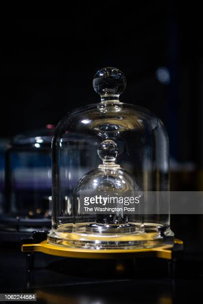 A half kilogram standard is photographed at the National Institute of Standards and Technology on Tuesday November 13 in Gaithersburg MD