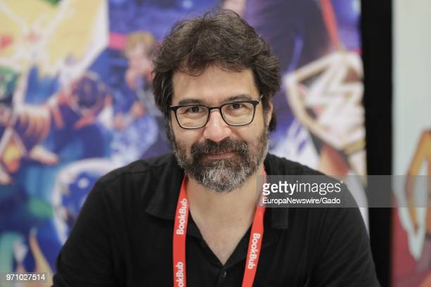 Half length portrait of author Greg Pak during the 2018 edition of BookExpo America in New York City May 31 2018