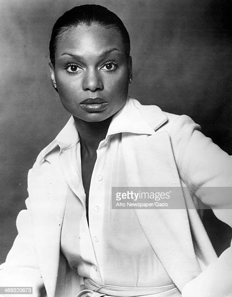 Half length portrait of Vivian Reed, star of the musical Bubbling Brown Sugar, promoting a new song by Oscar award winning composer Marvin Hamlisch...