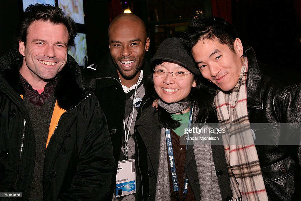 Half Life Actor Ben Redgrave, Actor Lee Marks, writer-director Jennifer Phang, and actor Leonardo Nam attends the BMI Big Crowded Room Party at the Leaf Lounge during the 2008 Sundance Film Festival on January 21, 2008 in Park City, Utah.