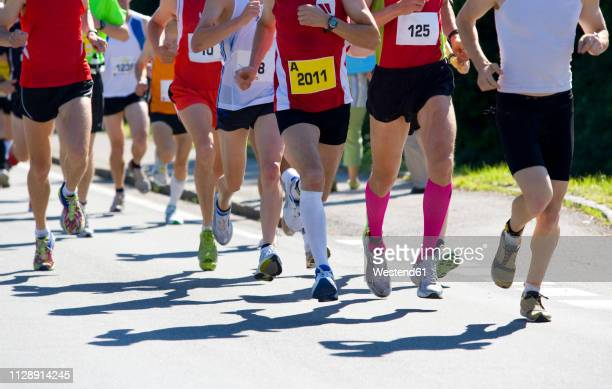 half marathon, runner - half_marathon stock pictures, royalty-free photos & images