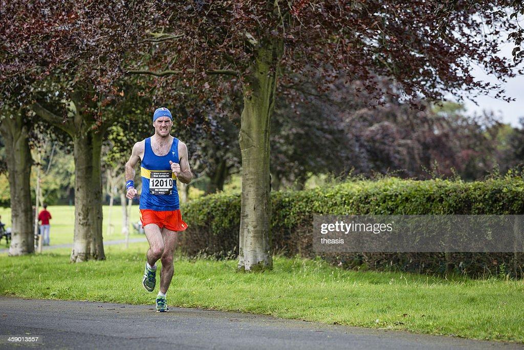 Half Marathon Runner : Stock Photo