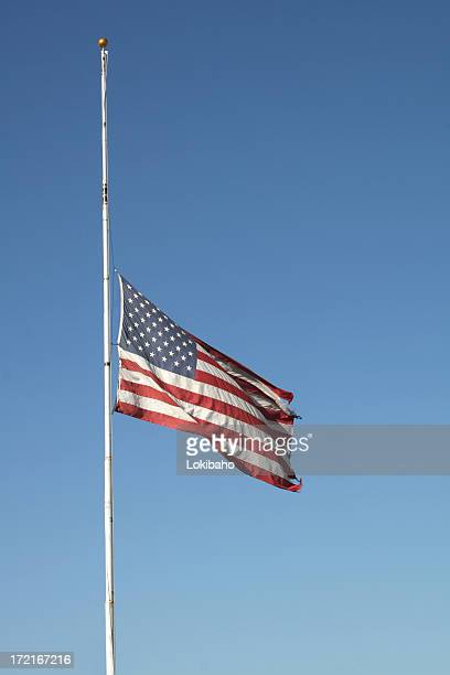 half mast - half mast stock photos and pictures