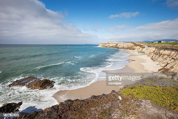 half moon bay california - san mateo county stock pictures, royalty-free photos & images