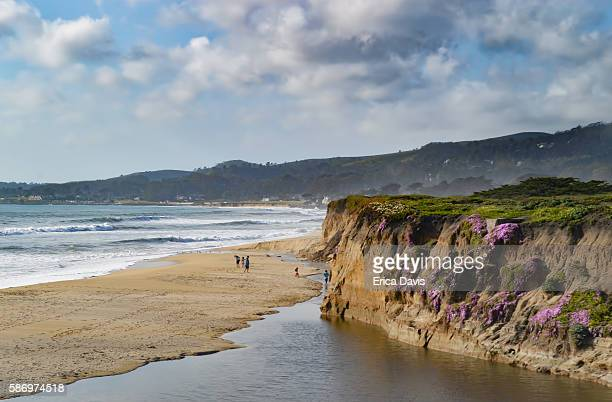 Half Moon Bay showcases beautiful reefs and estuaries along Pacific ocean with splendid skylines.