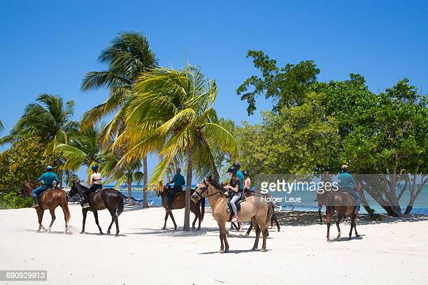 Half Moon Resort horseback ride along beach