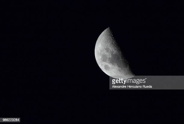half moon - waxing crescent - brazilian waxing stock photos and pictures