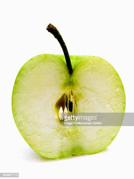 Half of a Granny Smith Apple