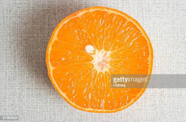 half of an orange - core stock pictures, royalty-free photos & images