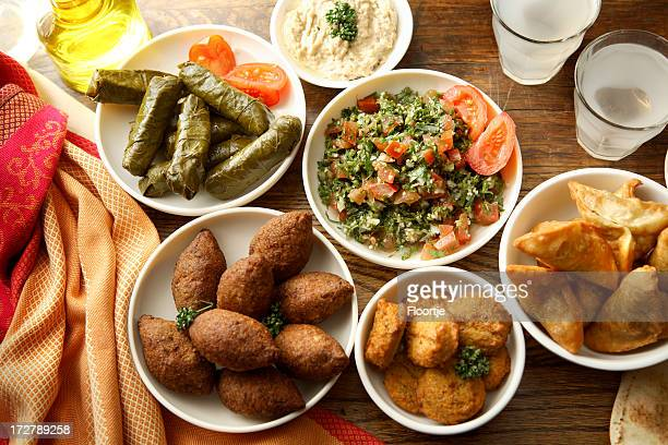 half: - tabbouleh stock pictures, royalty-free photos & images