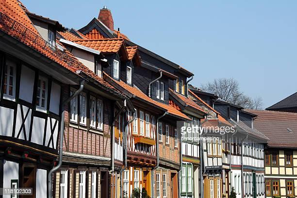 Half Holz Häuser