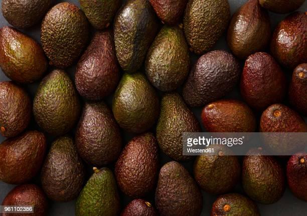 Halfed avocados