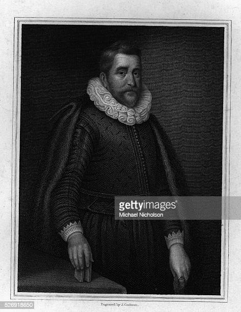 A halflength portrait of the English traveller and scholarSir Henry Wotton Drawn by GClint and engraved by FEngleheart