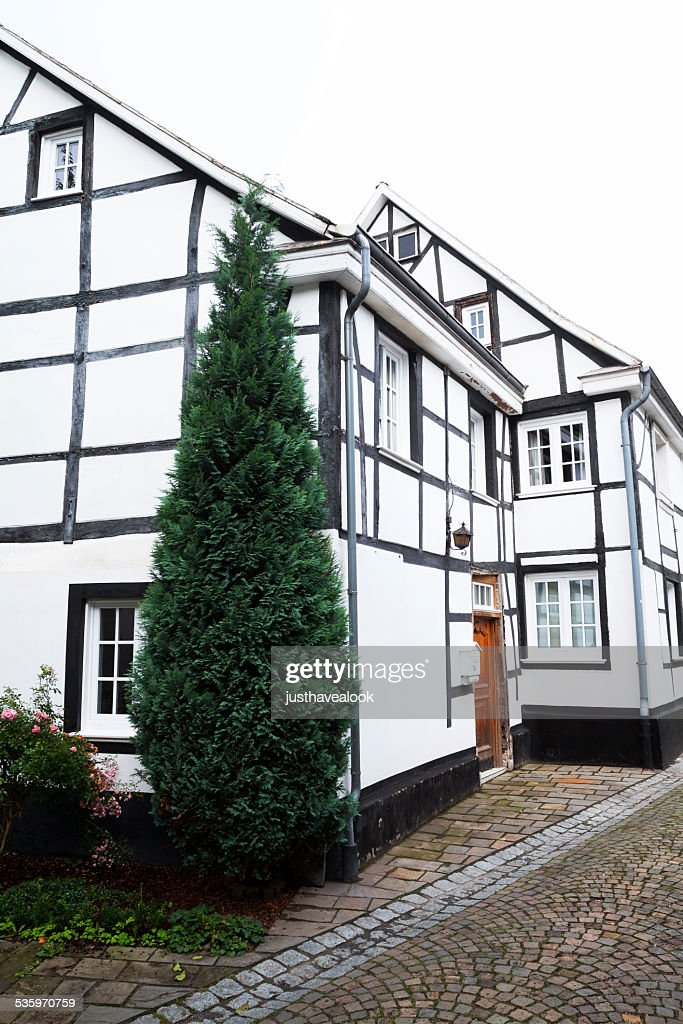 Half-timbered buildings : Stock Photo