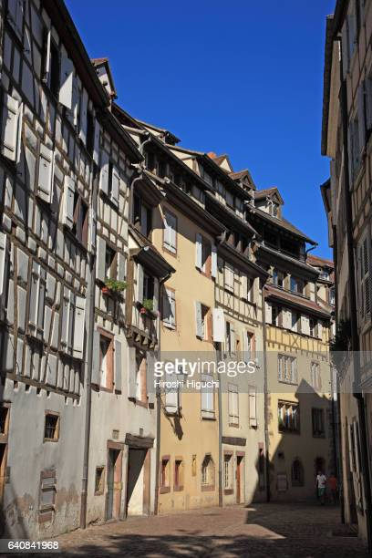 Half-timbered houses in Colmar, Alsace, France