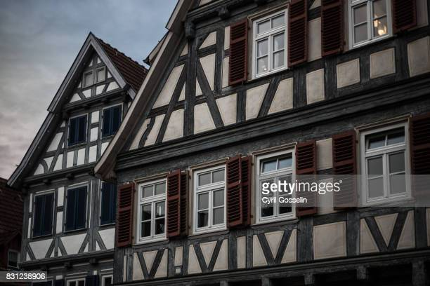 Half-timbered houses in Schorndorf