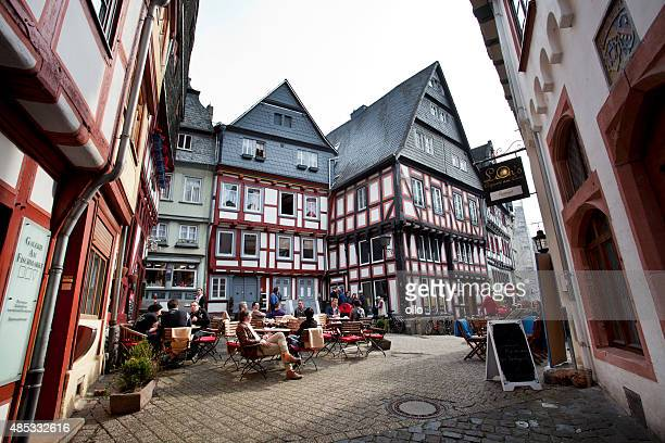 Half-timbered houses, Limburg, Lahn, Germany