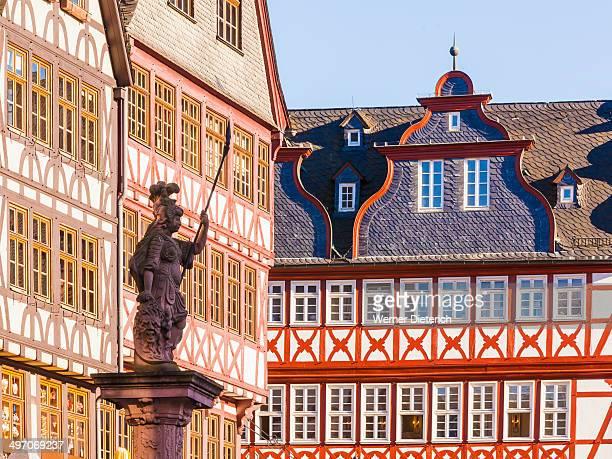 Half-timbered houses, Romerberg Square, Frankfurt