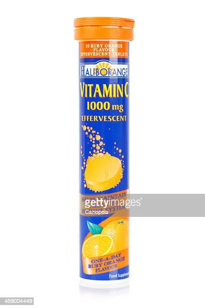 Haliborange vitamine C 1 mg effervescentes tablettes.