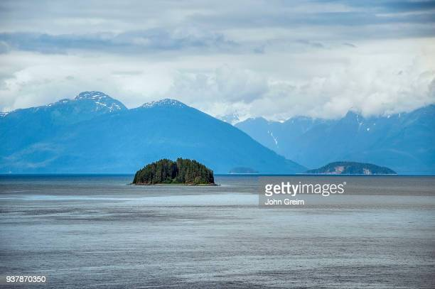 Halibut island, Icy Strait, Alaska.