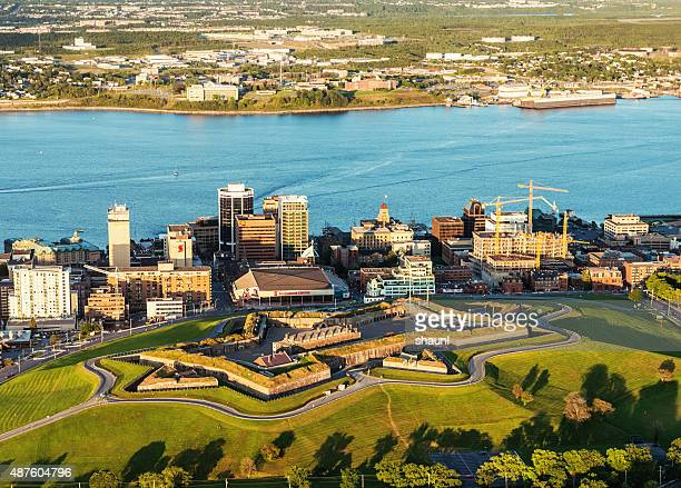 halifax citadel hill national historic site - hill stock pictures, royalty-free photos & images