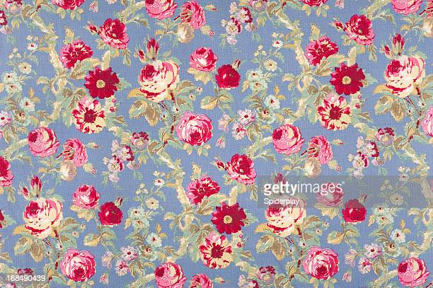 Halifax Rose Antique Floral Fabric