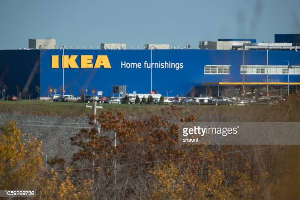 ikea halifax store - store opening stock pictures, royalty-free photos & images