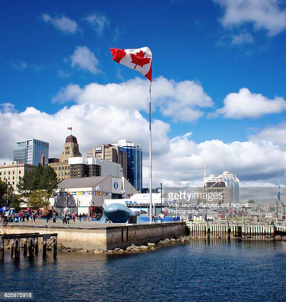 Halifax Wharf on a Beautiful Fall Day, Nova Scotia Canada