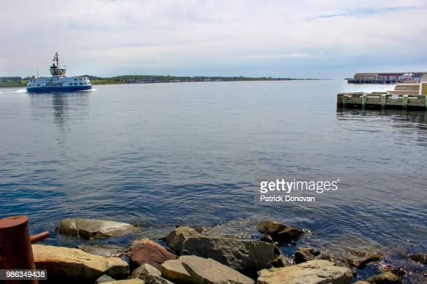 halifax-dartmouth ferry - ferry stock pictures, royalty-free photos & images