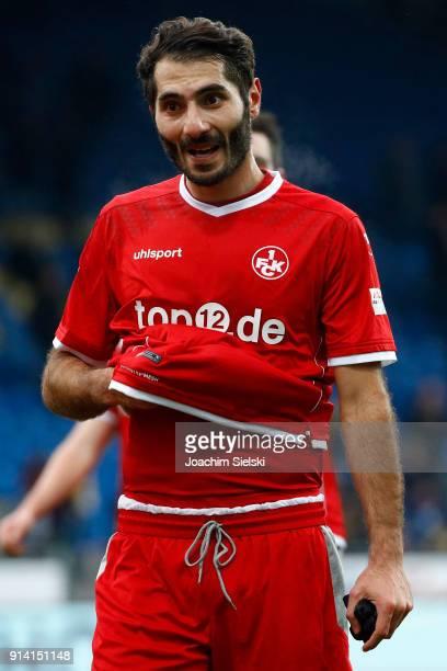 Halil Altintop of Kaiserslautern celebrate after the Second Bundesliga match between Eintracht Braunschweig and 1 FC Kaiserslautern at Eintracht...