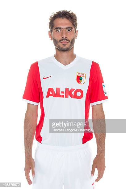 Halil Altintop poses during the FC Augsburg team presentation at SGLArena on July 16 2014 in Augsburg Germany