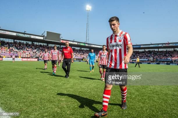 Halil Dervisoglu of Sparta Rotterdam during the Dutch Jupiler League playoffs final match between Sparta Rotterdam and FC Emmen at the Sparta stadium...