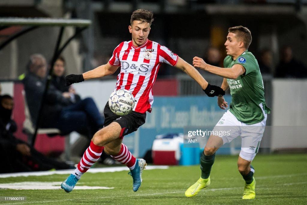 Halil Dervisoglu Of Sparta Rotterdam Michal Sadilek Of Psv During News Photo Getty Images