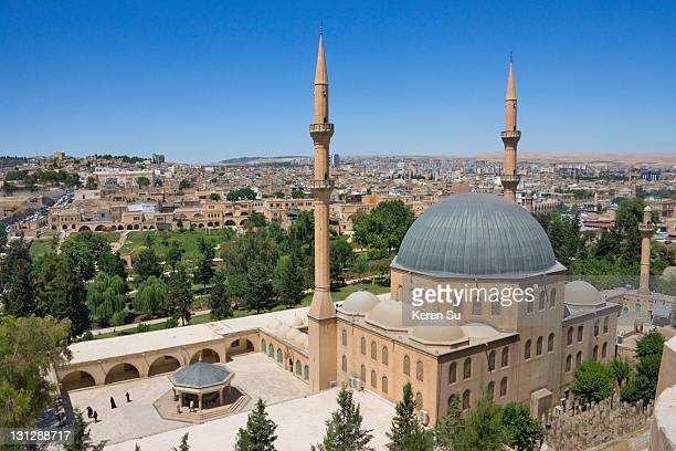 halil rahman mosque - şanlıurfa stock pictures, royalty-free photos & images