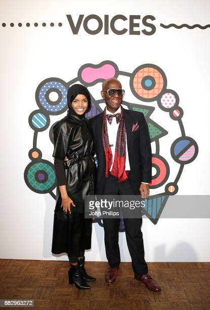 Halima Aden and Dapper Dan during #BoFVOICES on November 30 2017 in Oxfordshire England