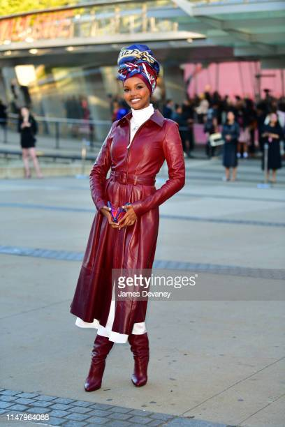 Halima Aden arrives to the 2019 CFDA Fashion Awards at Brooklyn Museum on June 3 2019 in New York City