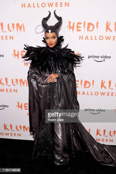 Halima Aden attends Heidi Klum's 20th Annual Halloween Party presented by Amazon Prime Video and SVEDKA Vodka at Cathédrale New York on October 31,...