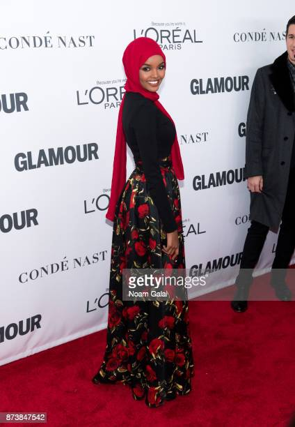 Halima Aden attends the 2017 Glamour Women of The Year Awards at Kings Theatre on November 13 2017 in New York City
