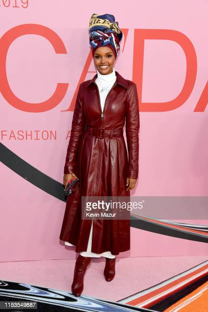 Halima Aden attends the CFDA Fashion Awards at the Brooklyn Museum of Art on June 03, 2019 in New York City.