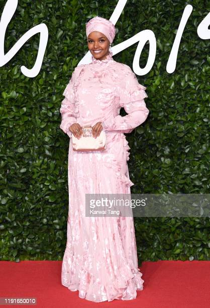 Halima Aden attends The Fashion Awards 2019 at the Royal Albert Hall on December 02 2019 in London England