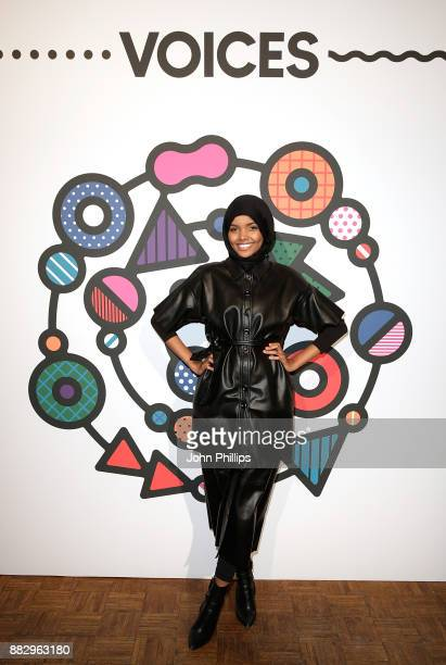 Halima Aden during #BoFVOICES on November 30 2017 in Oxfordshire England