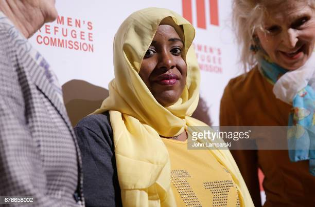 Halima Mohamud Mohamed attends the 2017 Women's Refugee Commission Voices Of Courage Awards at Cipriani 42nd Street on May 4 2017 in New York City